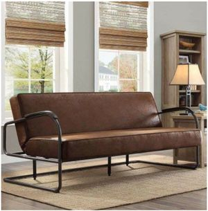 Brand NEW dark chocolate brown futon for sale for Sale in St. Louis, MO