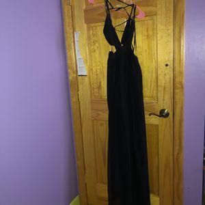 Fashionnova, Lanai Maxi dress, Black,medium for Sale in Ronkonkoma, NY