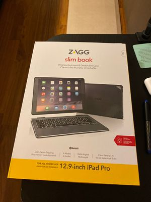 ZAGG Slim book 12.9 iPad Pro for Sale in Bellevue, WA