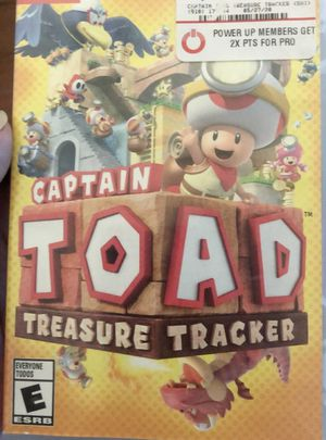 Captain Toad Treasure Tracker Nintendo Switch for Sale in Pearland, TX
