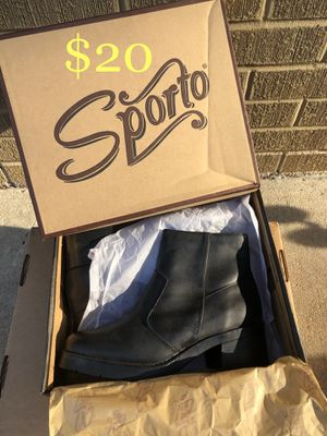 Sporto Leather Boots for Sale in Wheat Ridge, CO