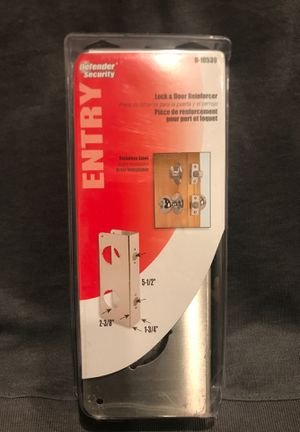 Defender Security- Entry door and lock reinforcer for Sale in Corona, CA