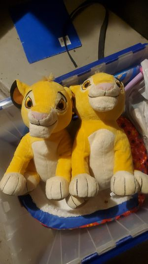 2 Lion King stuffed Animals for Sale in Mesa, AZ