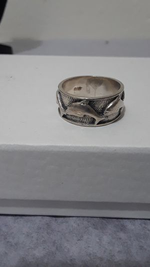 Sterling silver Vintage Dolphins Ring for Sale in Tampa, FL