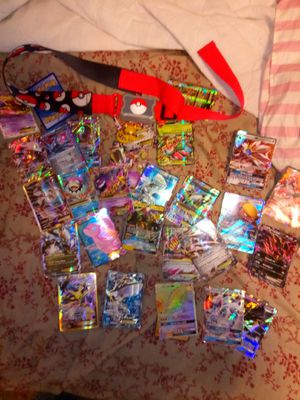 Pokémon rare 55 holographics rare trading cards mint even the real ones from with Chinese text for Sale in Miami, FL