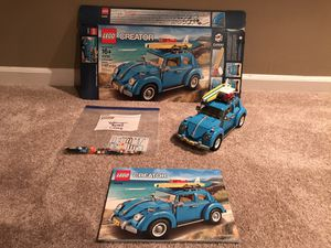 Lego Creator Expert Volkswagen Beetle (10252) for Sale in Noblesville, IN
