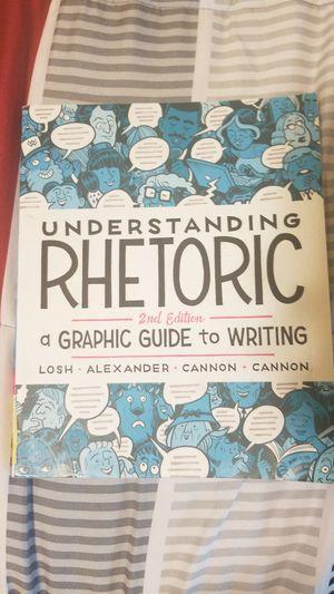 Understanding Rhetoric 2nd edition for Sale in Yelm, WA
