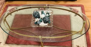 Oval Glass Tea Table for Sale in Marysville, WA