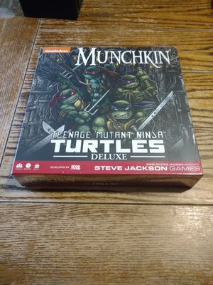 Munchkin: Teenage Mutant Ninja Turtles Deluxe for Sale in Chicago, IL