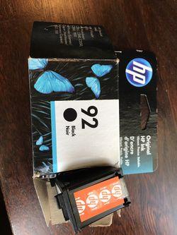 HP black Ink Cartridge 92 for Sale in Portland,  OR
