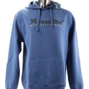 NWT Blue MOOSJAW MOUNTAINEERING Sz. Large Hoodie Sweatshirt Mens for Sale in Bellevue, WA