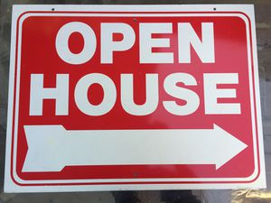 Open House Signs for Sale in Montclair, CA