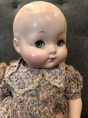Vintage antique composition baby doll Effanbee flirty eye sweetie pie doll for Sale in DEVORE HGHTS, CA