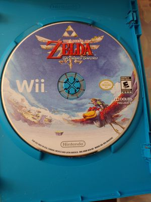 NINTENDO Wii/U ZELDA SKYWARD SWORD 100%💥💥 for Sale in Escondido, CA