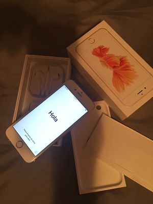 iPhone 6s 128gb unlocked for Sale in Tyler, TX