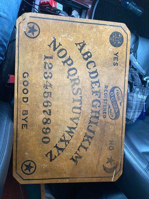 Antique quija board for Sale in Spokane, WA