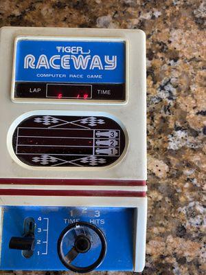 Vintage Tiger Raceway Handheld Arcade Game $15 for Sale in Las Vegas, NV
