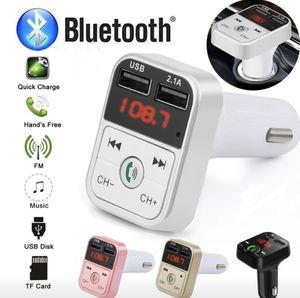 Wireless Bluetooth Car kit handsfree talk MP3 player fm transmitter dual car charger for Sale in Virginia Beach, VA