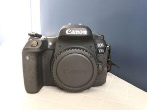 Canon 77D + Canon EF-S 18-55mm f/4-5.6 IS STM Lens for Sale in Woodbridge, VA