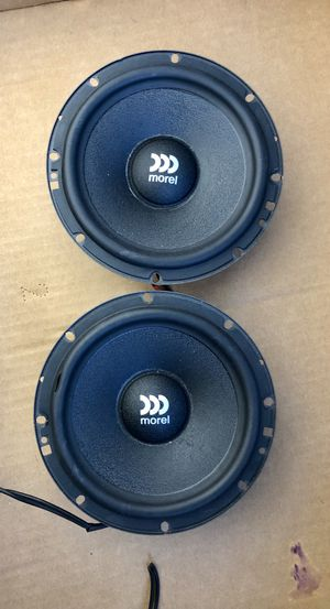 "MOREL Car Speakers / Maximo 6 1/2"" Woofers. for Sale in Pompano Beach, FL"