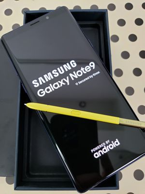 Samsung Galaxy Note 9, Blue, 128GB, FOR SPRINT and BOOST MOBILE, Guarantee to Activate, Clean IMEI for Sale in Los Angeles, CA