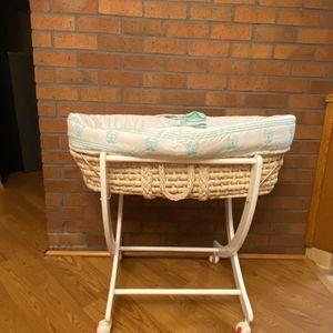 Moses Basket Bassinet for Sale in Gresham, OR