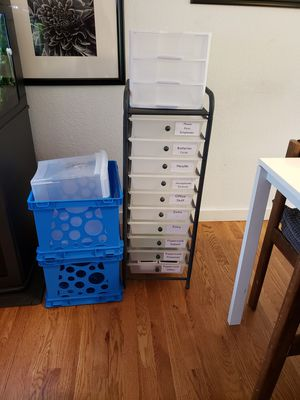 Storage drawers and storage crates for Sale in Bothell, WA