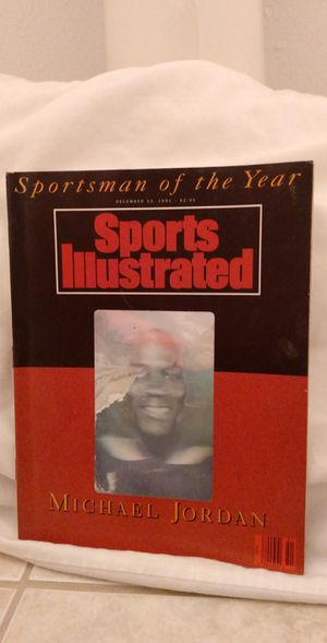 Sports Illustrated Michael Jordan 12/23/91 Sportsman of the year ( No Label ) for Sale in Hop Bottom, PA