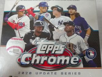 2020 Topps Chrome Baseball Mega Box for Sale in Marysville,  WA