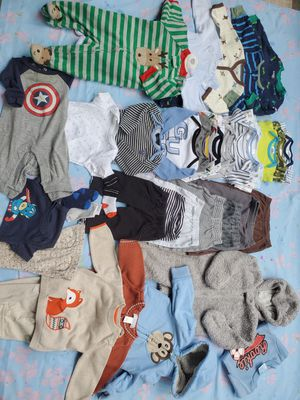 Baby clothes 0 months - 3 months -6 months for Sale in Garden Grove, CA