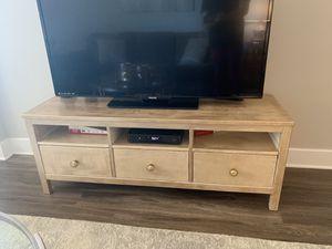 IKEA Hemnes 3 drawer TV stand for Sale in Arlington, VA