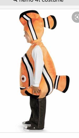 Nemo costume 3t/4t for Sale in Los Angeles, CA