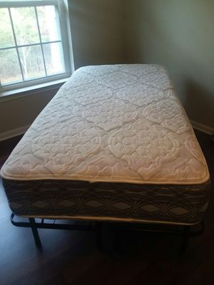 XL Twin Bed with Platform Frame...frame folds for easy storage... for Sale in Gulfport, MS