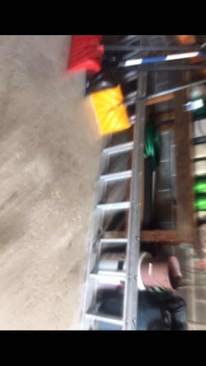 Ladders, barbecue grills(small and large, tennis rackets, speakers, wood kitchen table for Sale in Westchester, IL