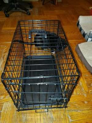 Small Dog Crate Kennel Cage Metal with Tray for Sale in The Bronx, NY