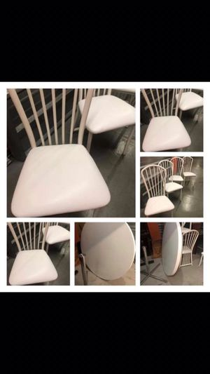 White table & 4 chairs for Sale for sale  New Rochelle, NY