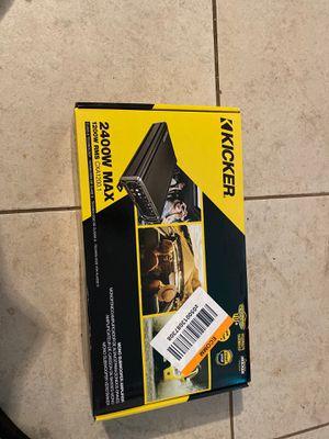 Brand new kicker amp 2400 watts for Sale in Pico Rivera, CA