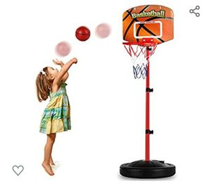 Toddler Basketball Hoop Stand Adjustable Height 2.5 ft for Sale in Glendale, AZ