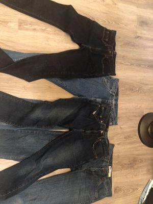 men's jeans size 30 x 30 , 29 x 30, 18 for Sale in Miami, FL