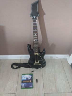 Guitar hero Xbox one for Sale in El Mirage, AZ