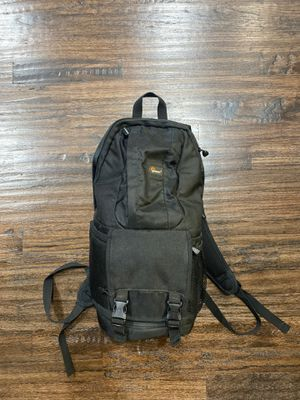 Lowepro Camera and lens holder. Backpack style for Sale in Richardson, TX
