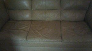 Bage leather couch for Sale in Cumberland, VA