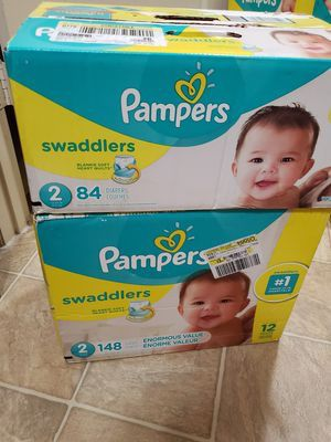Pampers dispers (size 2,3,4) for Sale in Tacoma, WA