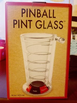 Pinball pint glass for Sale in Los Angeles, CA