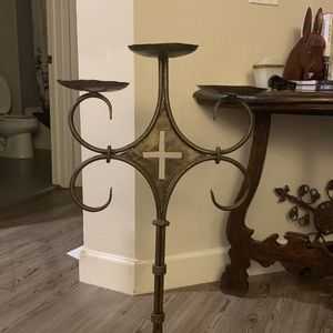 Floor Cross Three Tier Candle Holder for Sale in Spring, TX