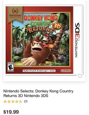 Nintendo 3ds donkey Kong for Sale in Moreno Valley, CA