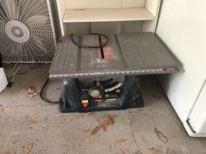 """Royal Table saw 15 Amp 10"""" for $200 for Sale in Sterling, VA"""