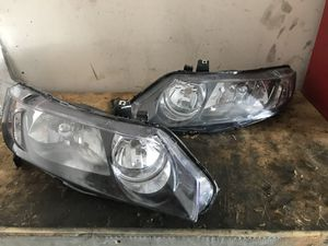 2007 Honda Civic (SEADAN!!) Headlights and bumper for Sale in Manassas, VA