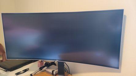 LG 21:9 Curved Ultramodern Monitor for Sale in El Cajon,  CA