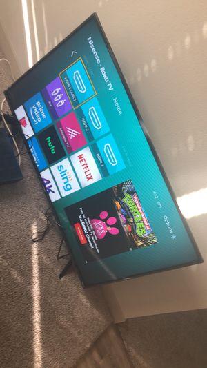 Hisense 4K Roko Smart TV 55 Inch for Sale in Phoenix, AZ